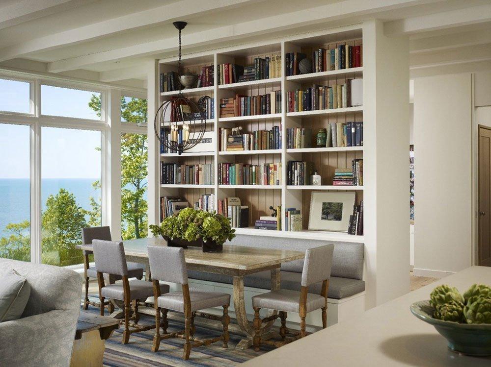 Phòng sách đẹp và nhiều ánh sáng ( Ảnh: internet)