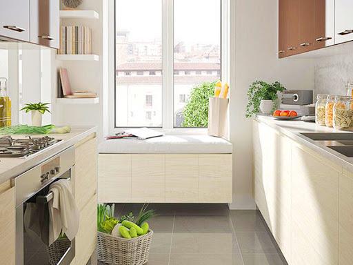 Cây xanh trong bếp( Ảnh: internet)